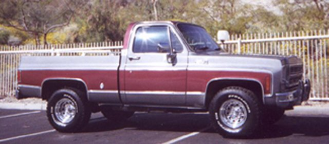 80s Dodge Short Bed 4x4