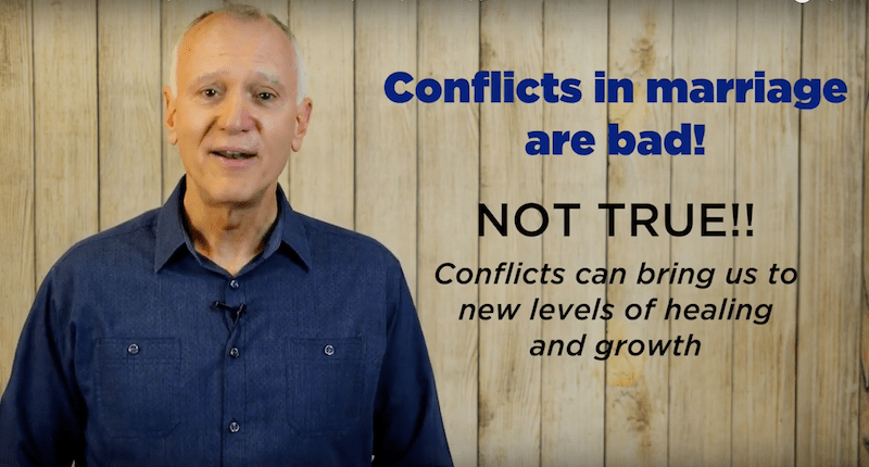 VIDEO BLOG: How to turn marriage conflicts into healing and growth opportunities