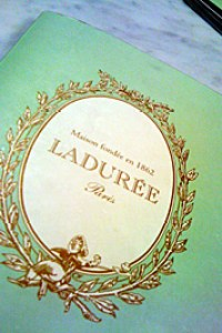 Ladurée at Harrods