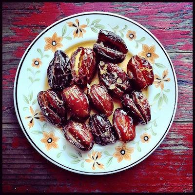 saffron dates