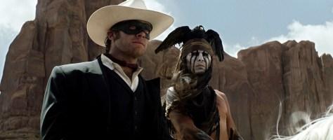 Arnie Hammer en Johnny Depp in The Lone Ranger
