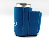 Beer Can Coolie With Cigarette & Lighter Holder (Blue ...