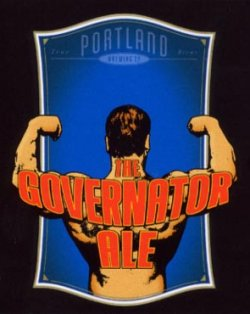 Governator Ale label