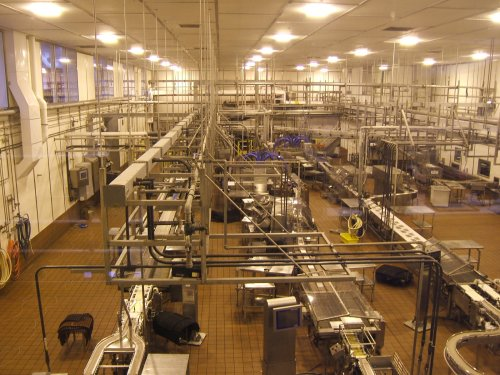 Tillamook Cheese Factory packaging production line