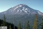 Mount St. Helens before it erupted