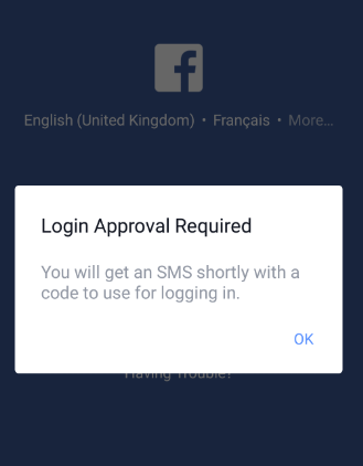 secure Facebook account from hackers