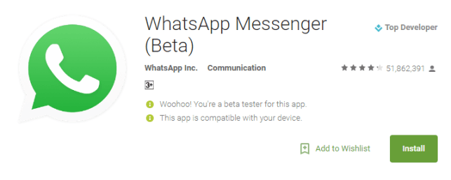 download whatsapp update