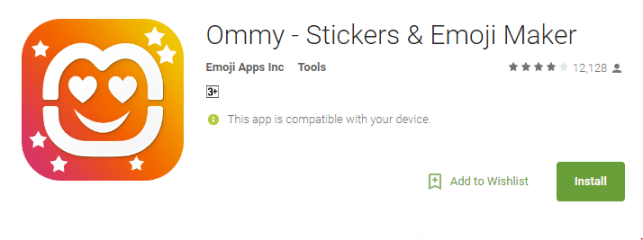 Download Ommy app from Play store