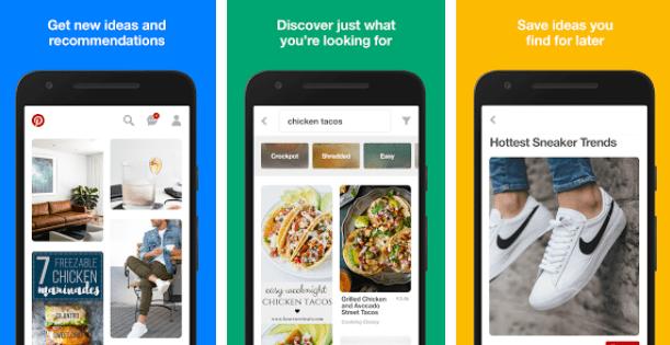 pinterest best facebook alternatives apps for Android