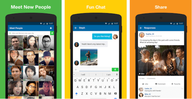 Best android apps to meet people