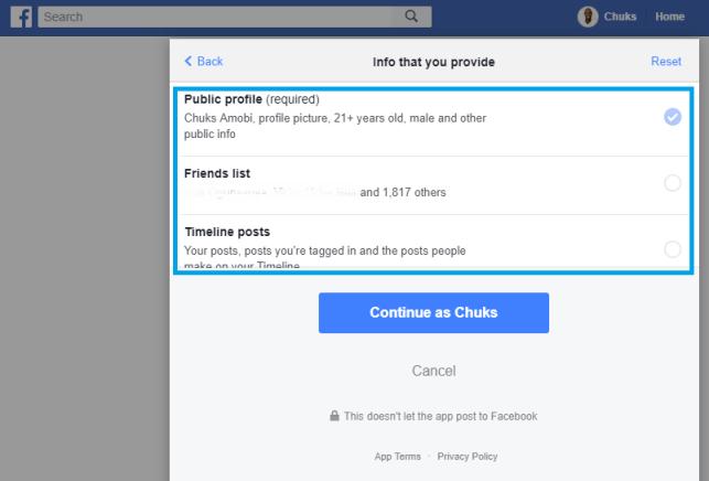 stop facebook apps access data