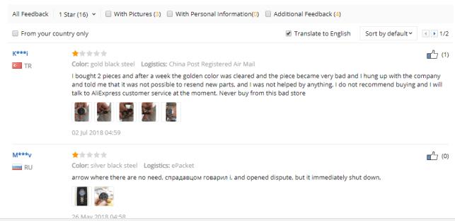 aliexpress customer reviews AliExpress Buying Secrets