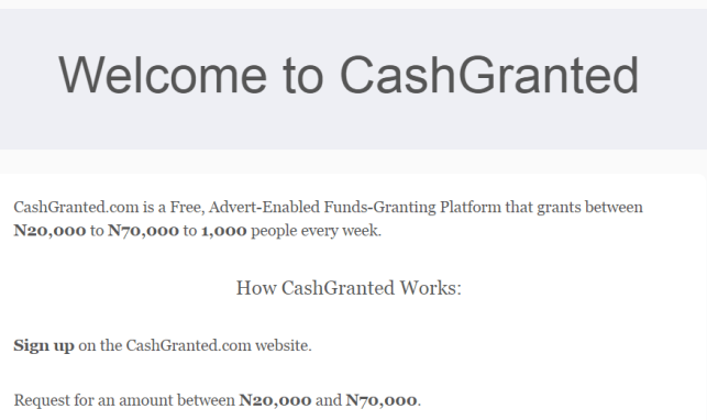 Cashgranted Review