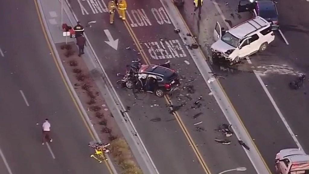 Car crash intersection Chula Vista