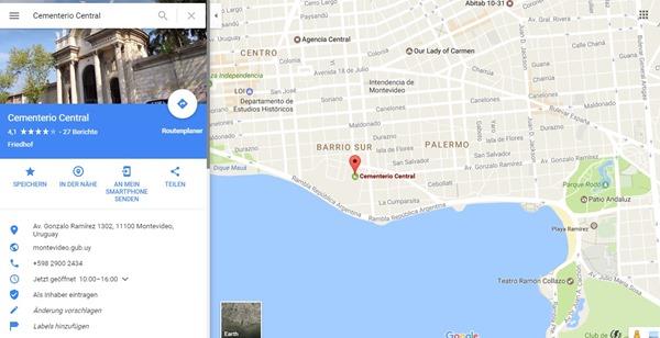 Cementerio Central - Google Maps
