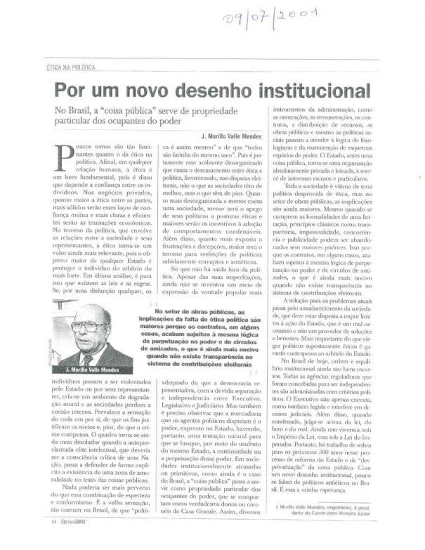 artigo 2001 murillo