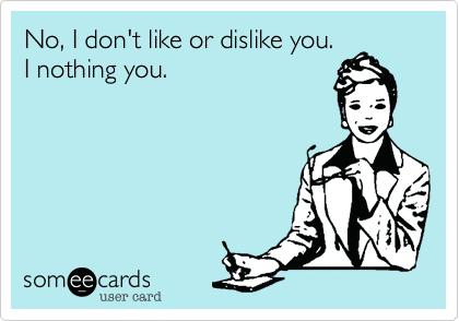 nothingyou