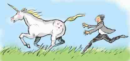 chasing unicorn