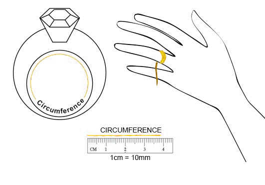 Zales Printable Ring Sizer Chart