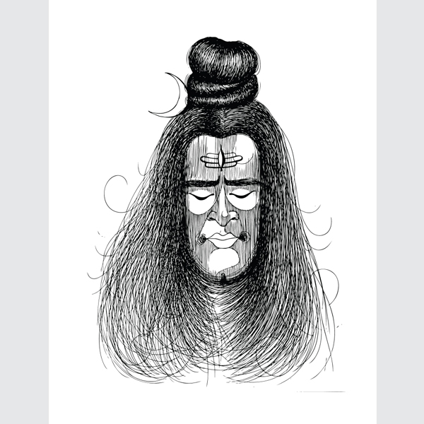 Black-and-White-Shiva-Art-Print