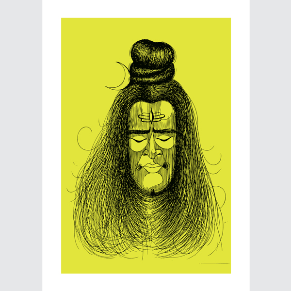 Lime-Green-Shiva-Art-Print-