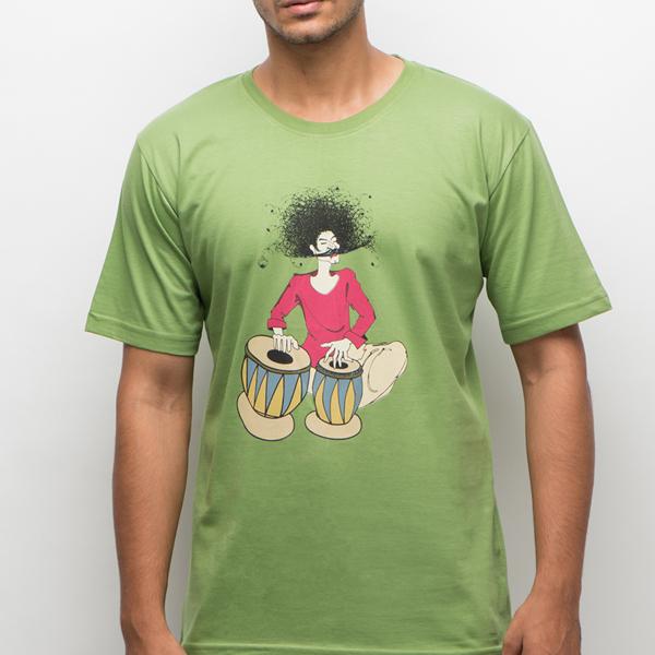 The-Musician-Green-T-Shirt