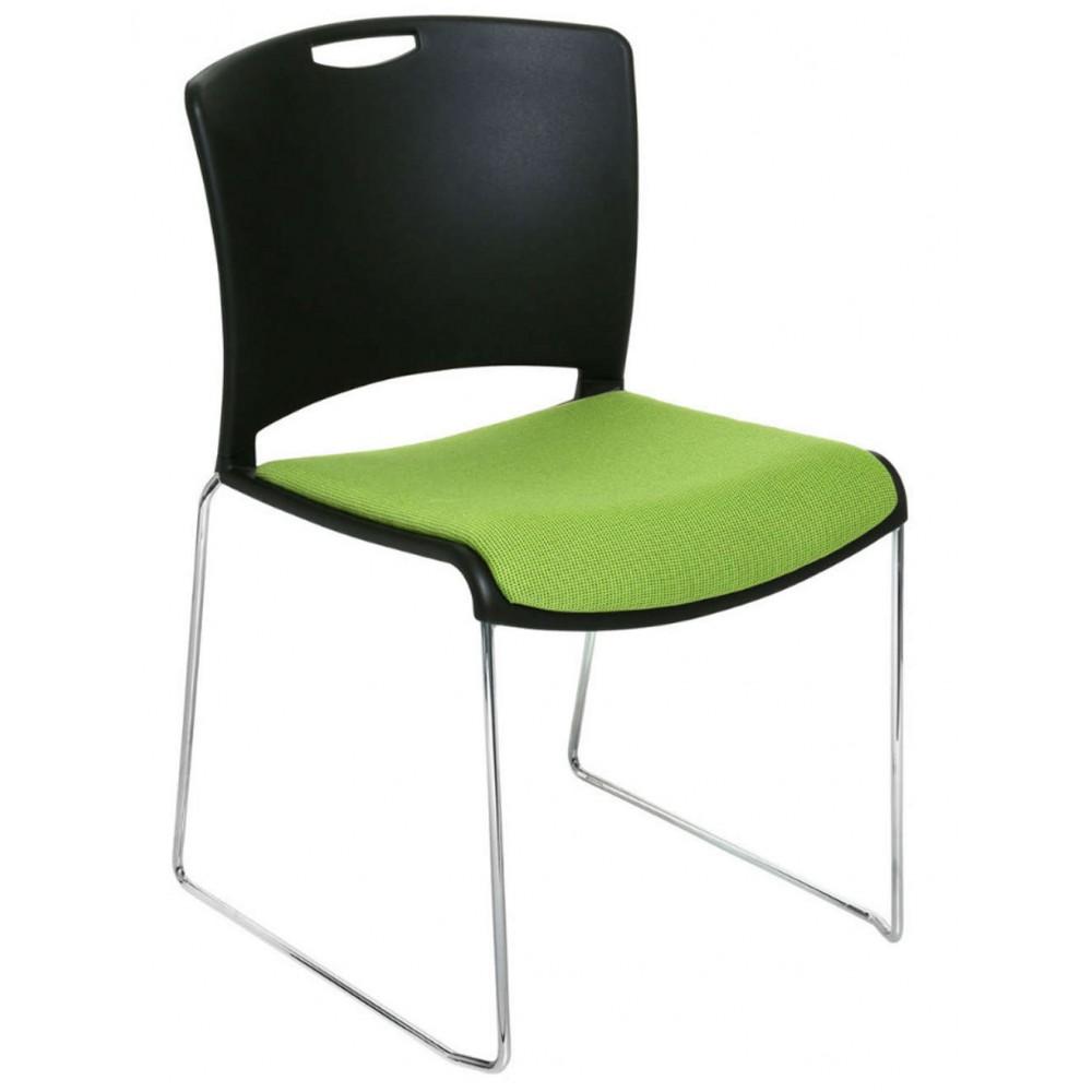 Jasper Upholstered Stacking Chair