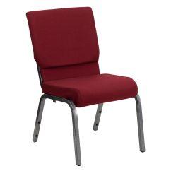 Chairs 4 Less Kennedy Rocking Chair Burgundy Fabric Church Xu Ch 60096 By Silv Gg