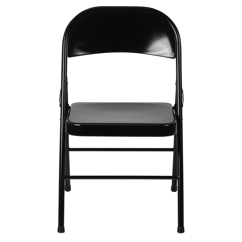 steel chair price in bangladesh gio ponti chairs black metal folding bd f002 bk gg