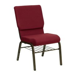 Chairs 4 Less Cushions For Wicker Burgundy Fabric Church Chair Xu Ch 60096 By Bas Gg