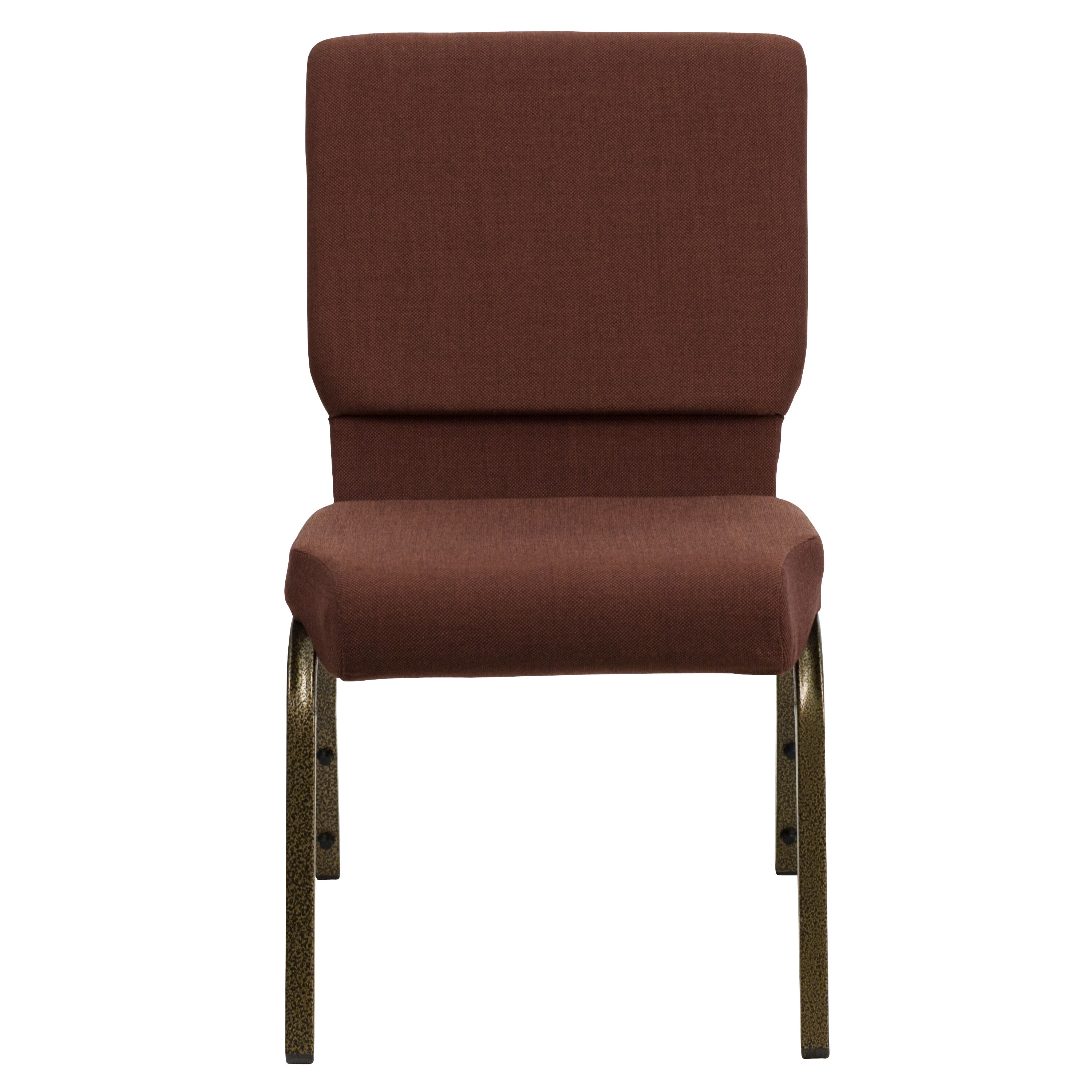 stackable church chairs mamas and papas chair seat brown fabric fd ch02185 gv 10355 gg