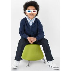 Ball Chair For Kids Personalized Baby Runtz Green Exercise 4755gs Churchchairs4less Com Our Trade Anti Burst Sour Apple Is On Sale