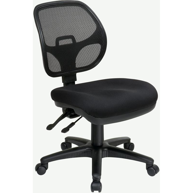 ergonomic chair pros wicker wingback chairs office star products pro line ii armless task