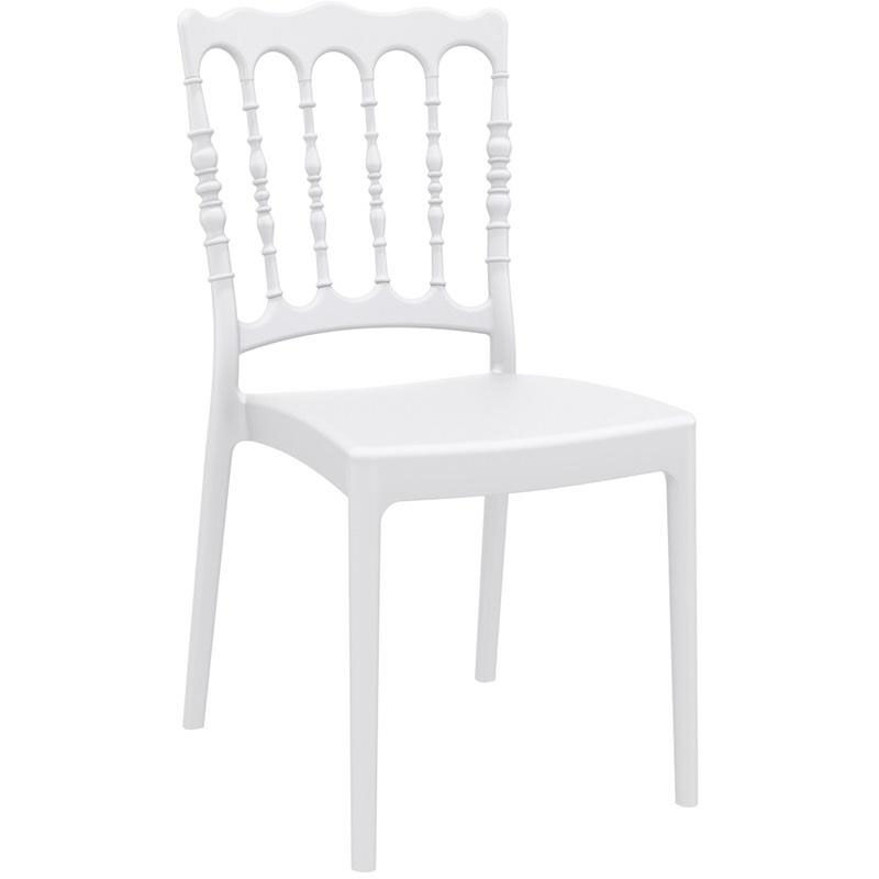 white resin stacking chairs dxracer chair review reddit compamia napoleon outdoor stackable wedding