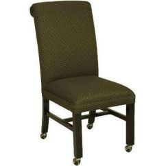 Side Chairs With Casters Yoga Headstand Chair Upholstered Caster 721 Grade2