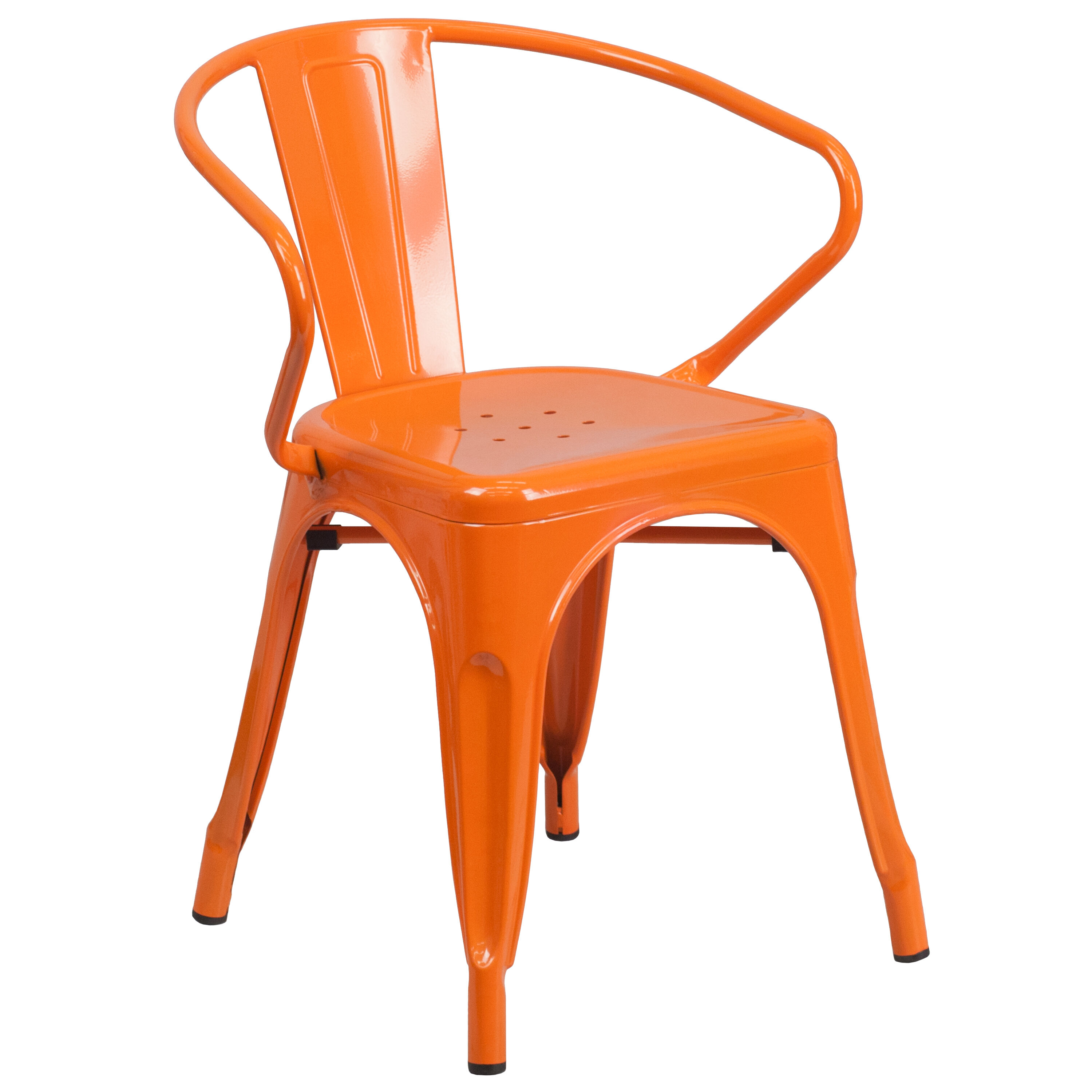 indoor outdoor chairs wooden office chair no wheels churchchairs4less furniture orange metal with arms