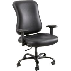 Office Chair 300 Lb Capacity Bedroom Reading Optimus Black Big And Tall 3592bl