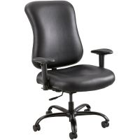 Optimus Black Big and Tall Chair 3592BL ...