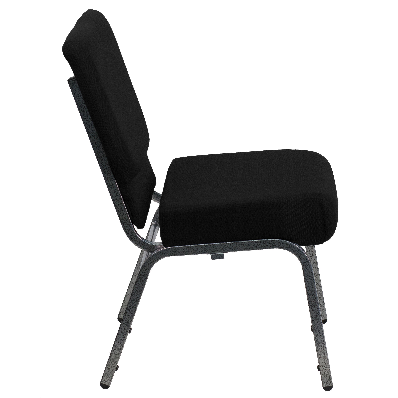 free church chairs pedicure spa uk black fabric chair xu ch0221 bk sv gg