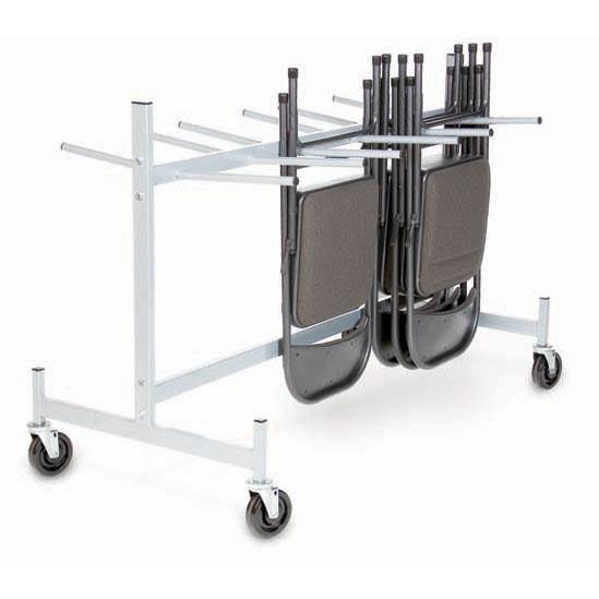 folding chair dolly 50 capacity counter height patio chairs churchchairs4less dollies hanging folded storage truck