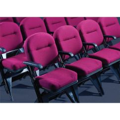 Folding Chair Leg Covers Michigan Company Clarin Seating Vip Series Upholstered Seat And Back