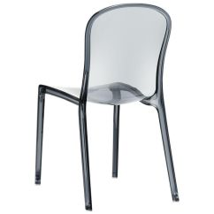 Plastic See Through Chair Best Fishing Uk Gray Stacking Dining Isp033 Tgry Churchchairs4less Com Our Victoria Modern Outdoor Polycarbonate Stackable Transparent Is On Sale