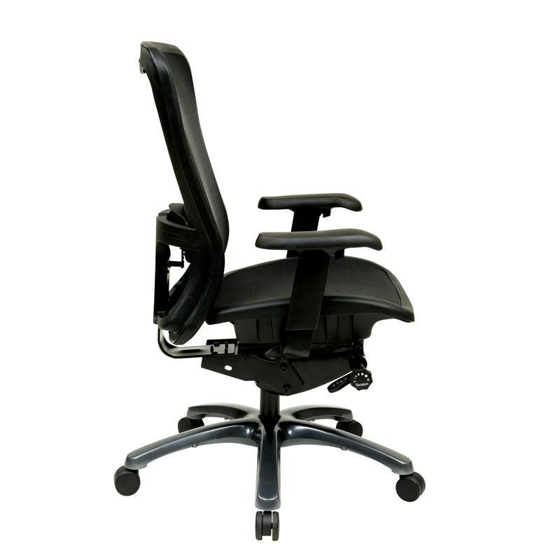 vista posture chair race car desk high back office adjustable arms happygame racing