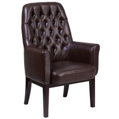 Leather Side Chair Cane Seat Brown Bt 444 Sd Bn Gg Churchchairs4less Com Images Our High Back Traditional Tufted Reception