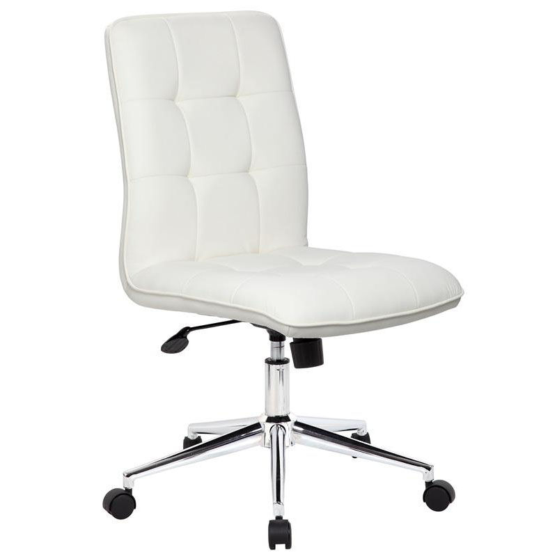 red desk chair staples guitar stand boss office products modern caressoftplus