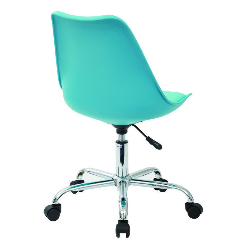 desk chair teal babybjorn potty office star products ave six emerson armless task