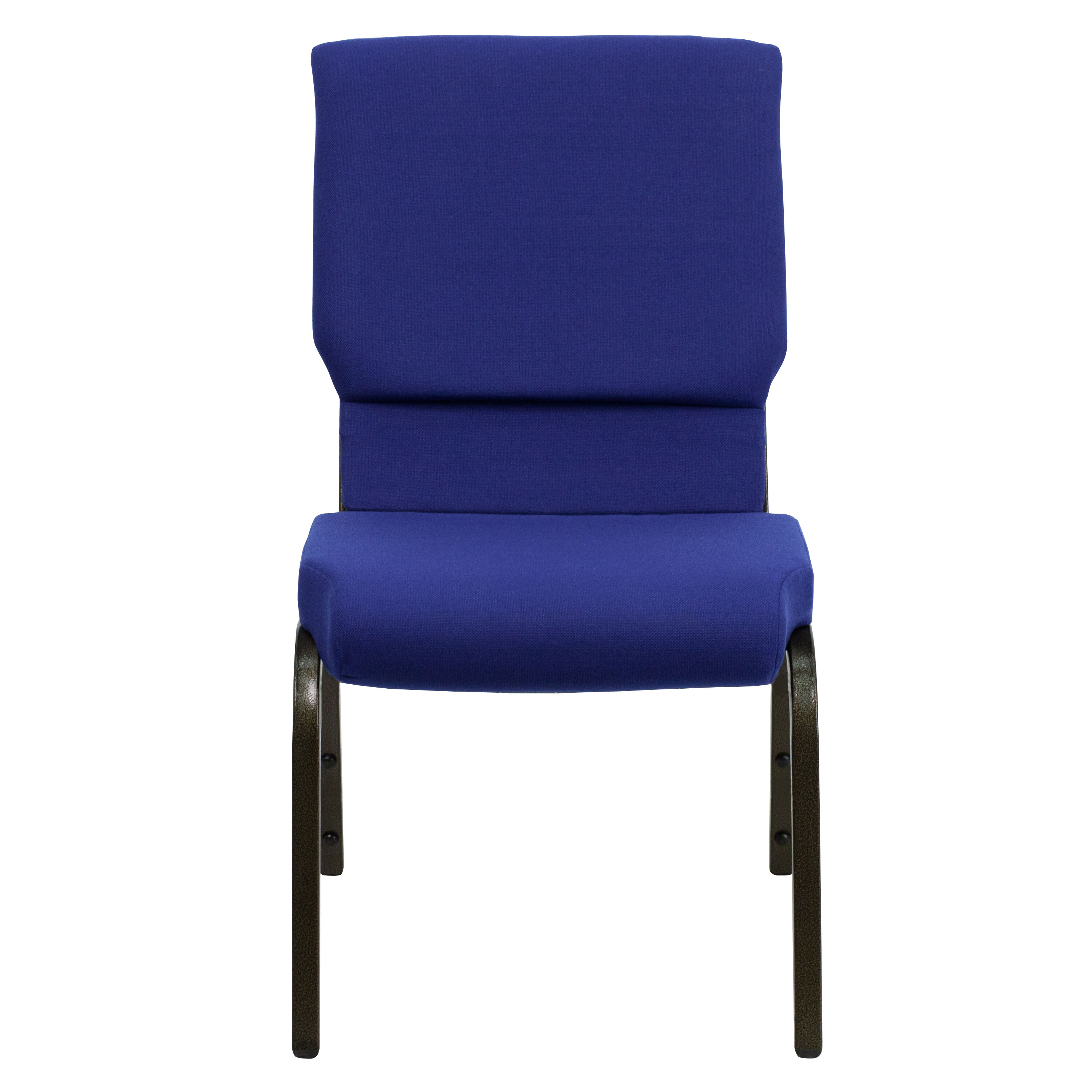 stackable church chairs princess anne chair blue fabric xu ch 60096 nvy gg
