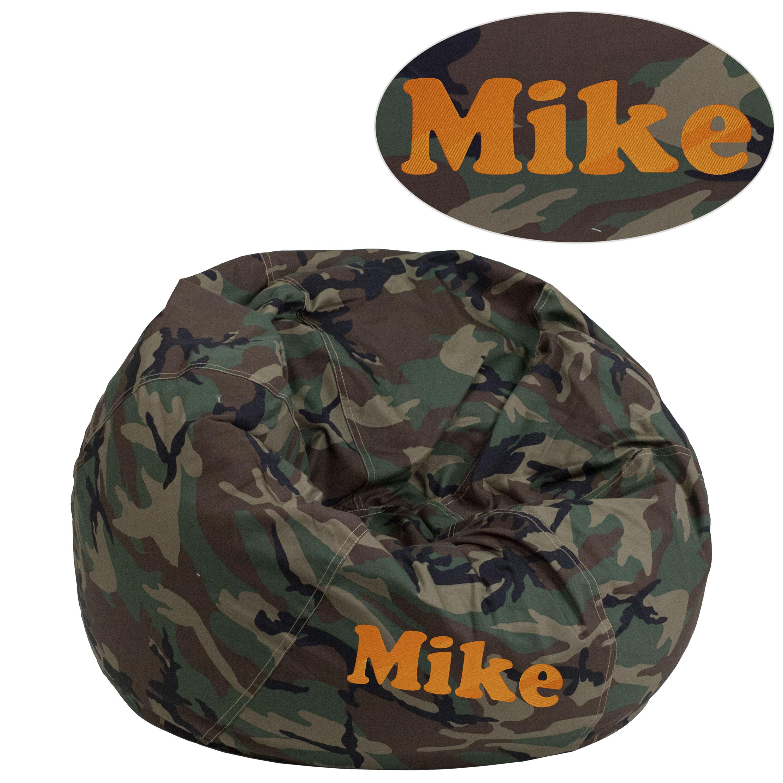 kids tv chair design photo emb camouflage bean bag dg small camo gg churchchairs4less com