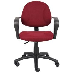 Posture Deluxe Chair Tufted Accent Boss Office Products Thick Padded