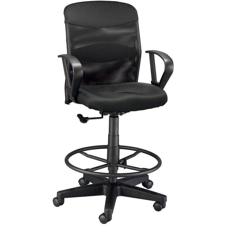 adjustable drafting chair plush animal rocking chairs black dc724 40 churchchairs4less